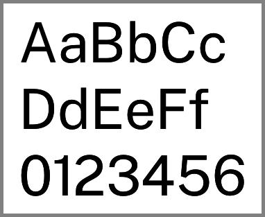 Echantillon de Public Sans
